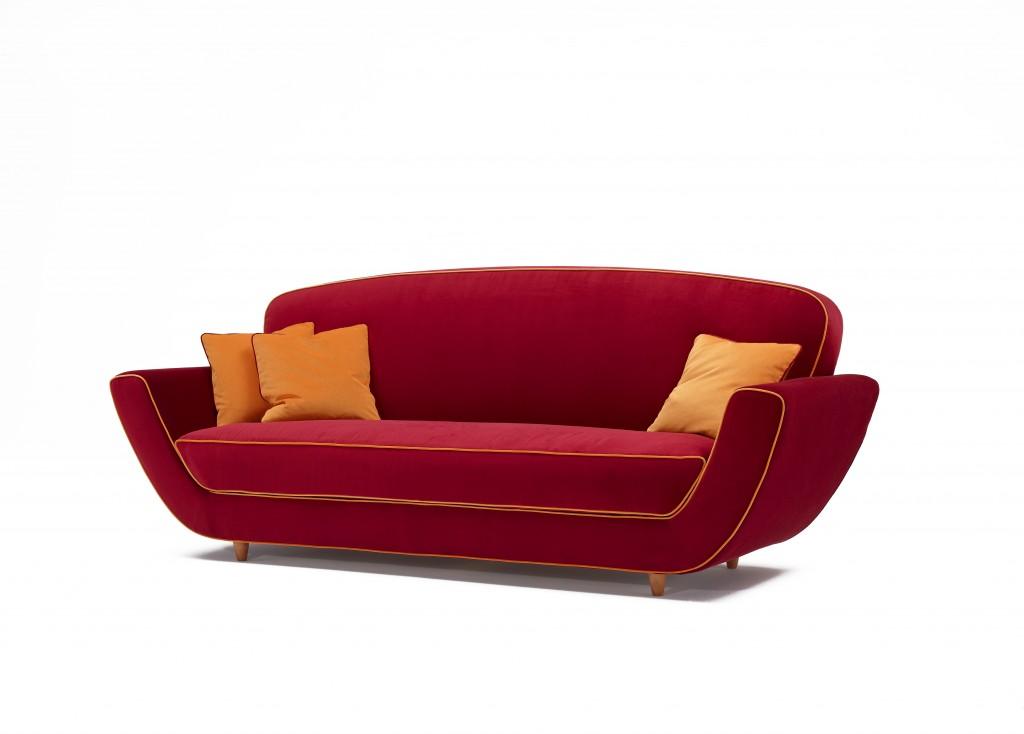 Minah sofa Fuksas per meritalia