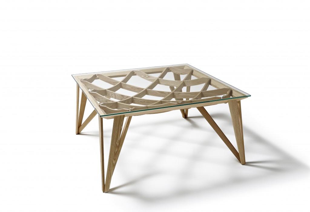 Tavolo Opera quadrato di Bellini per meritalia