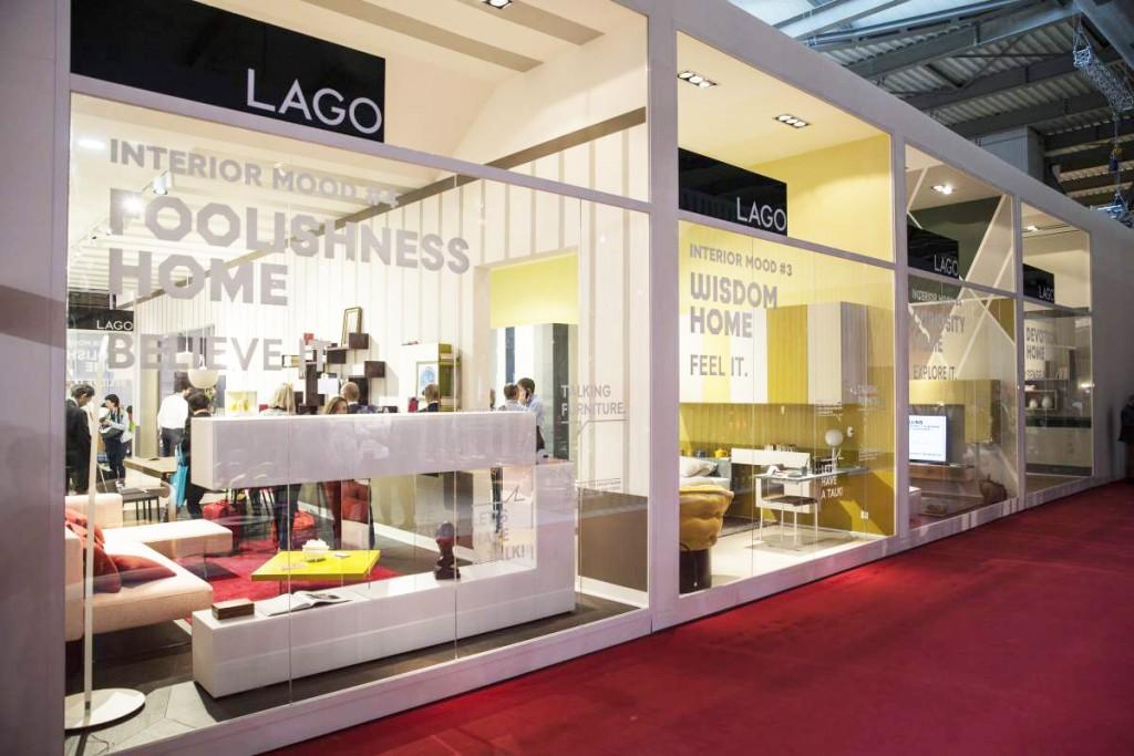Lago home design Stand - Lago Salone del mobile External View OK