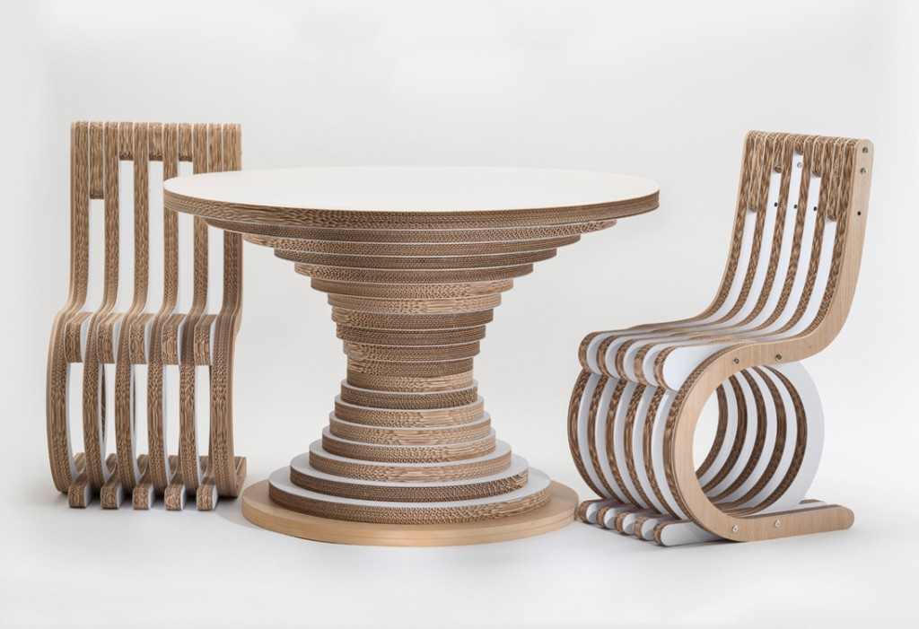 eco design ecosostenibile iglooo advice studio caporaso  chairs and table