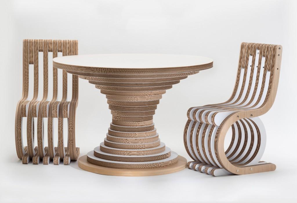 eco design ecosostenibile iglooo advice studio caporaso  chairs and table