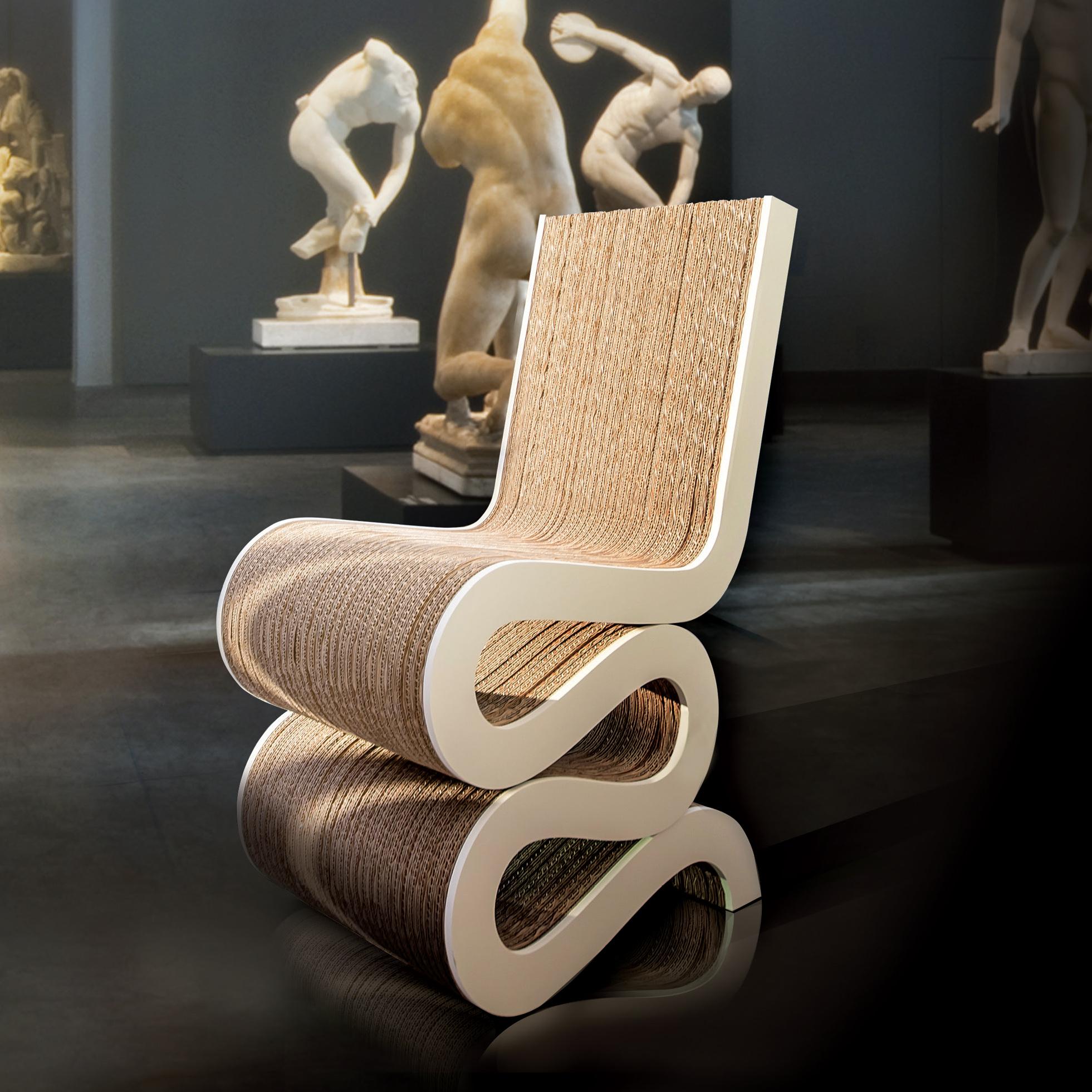 Cartone materia prima per interior design dall 39 impronta green for Arredi ecosostenibili