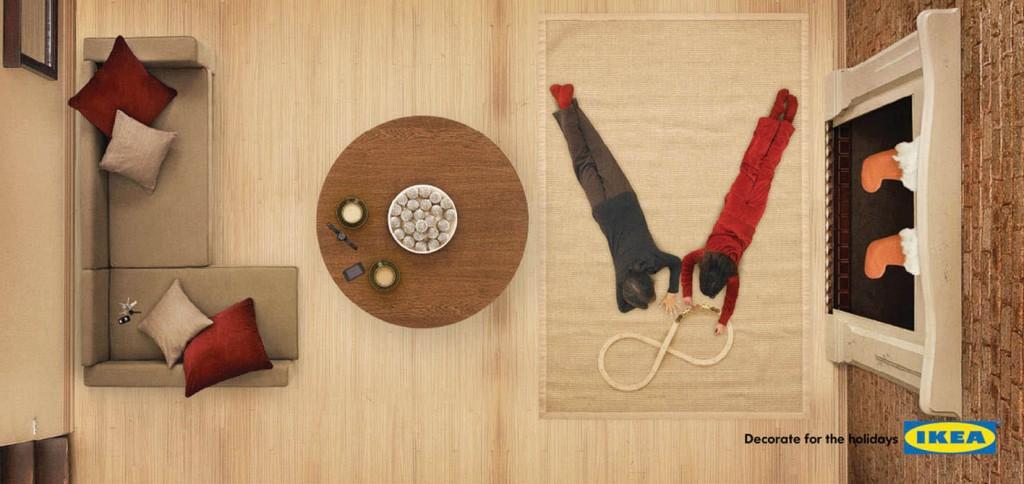 Ikea adv offline spazio alle idee comunicazione best case studies