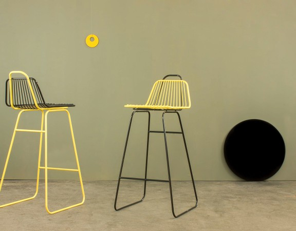 #Baiadera stool by Giancarlo Cutello for #Equilibri Furniture