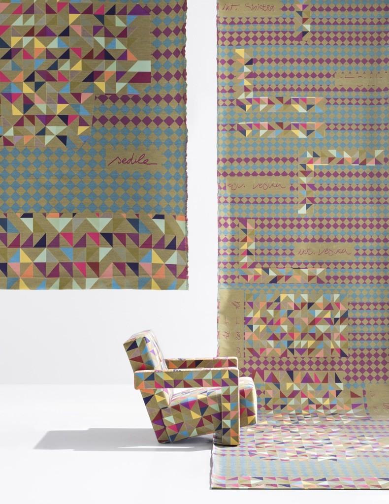 Bertjan Pot textile for #Utrecht || Cassina