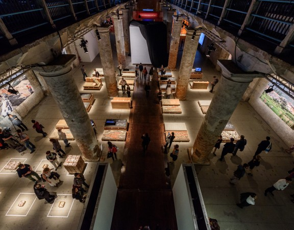 Biennale Architettura Pubblico Arsenale