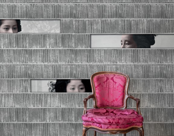 Kazumi wallpaper by Vito Nesta for Texturae