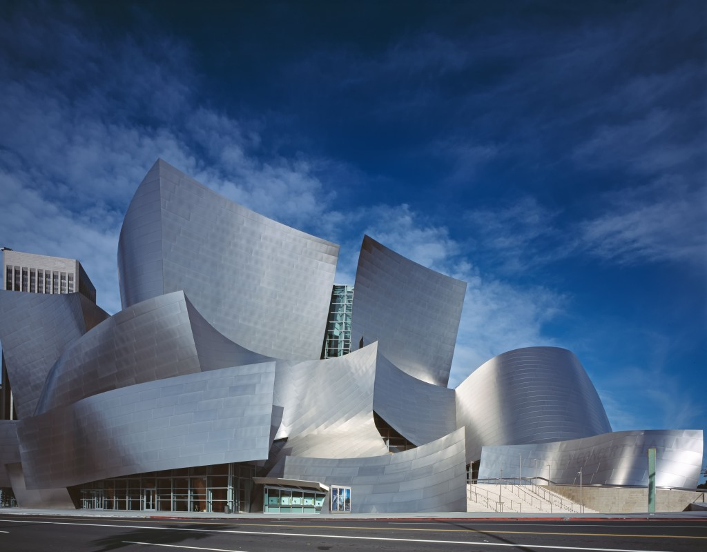 architettura e cinema Walt Disney Concert Hall by Carol Highsmith