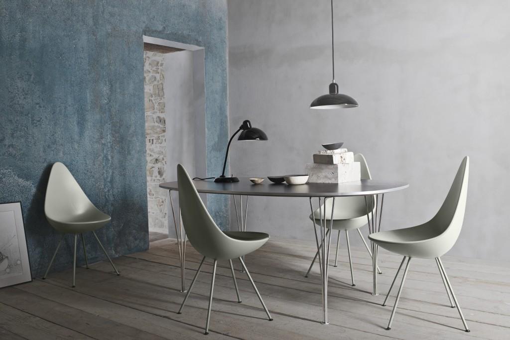 Arne Jacobsen || Drop chair
