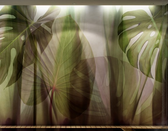 Cersaie 2016 || #Glamora Equatorial Jungle #wallpaper