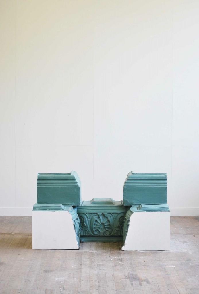 Influenze architettoniche design || #NynkKoster neoclassic inspiration #stools