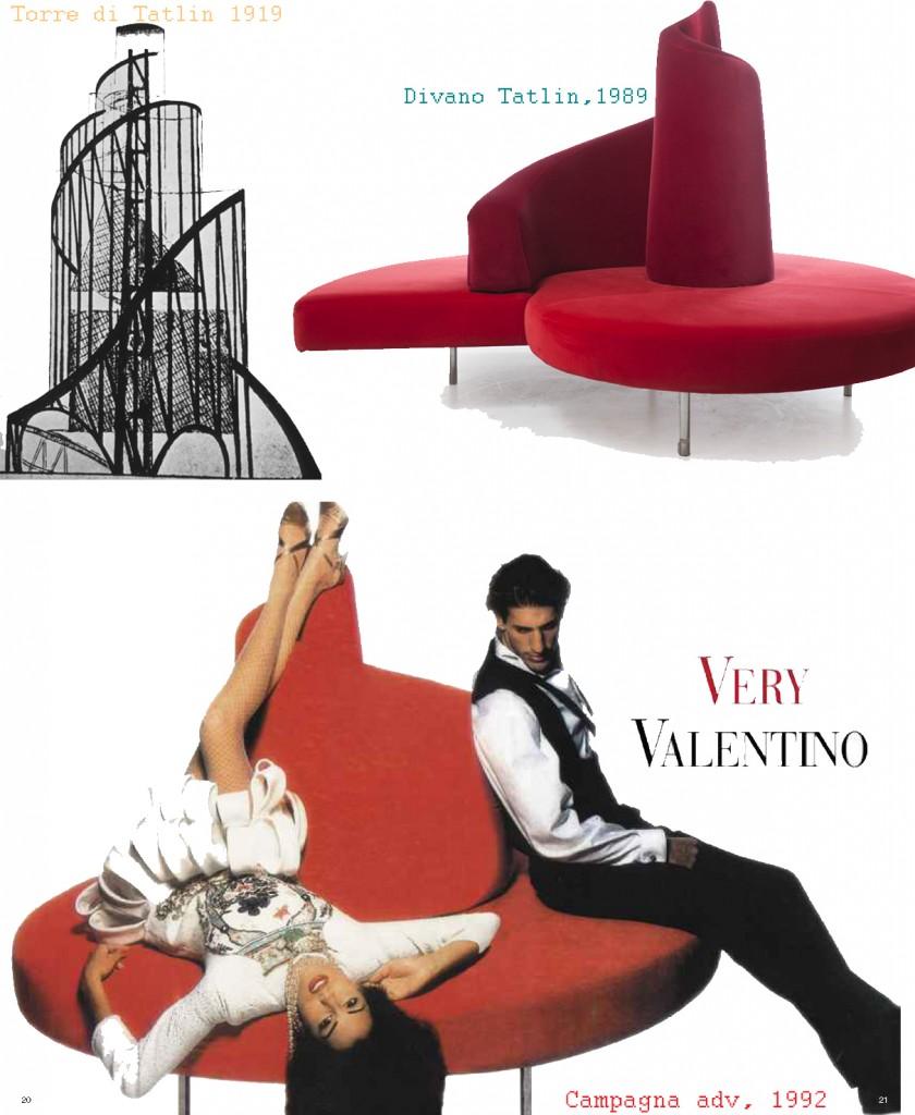 Influenze architettoniche design || #TATLIN #edra divani