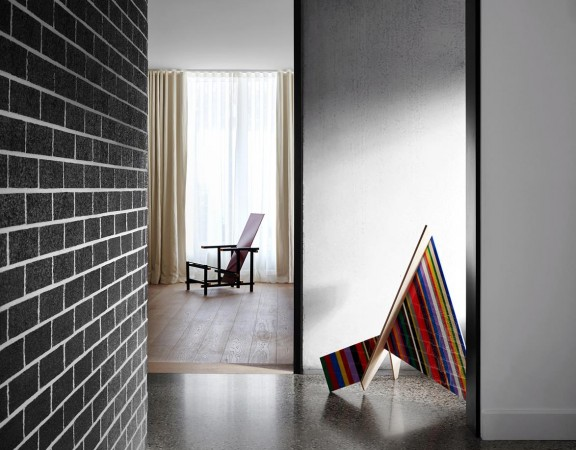 Bendigo House Flack Studio || CASSINA, REDN AND VLUE CHAIR