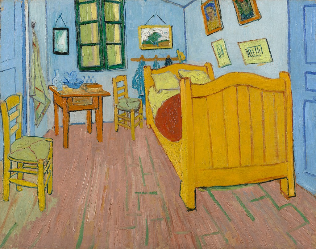 Van Gogh's Bedrooms marketing campaign