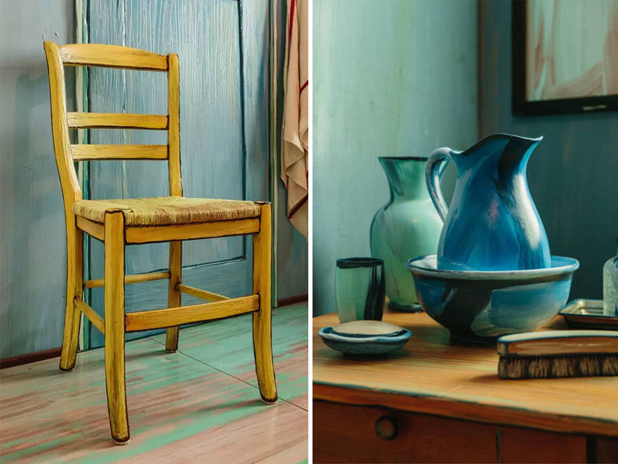 Van Gogh's Bedrooms marketing campaign - Room details