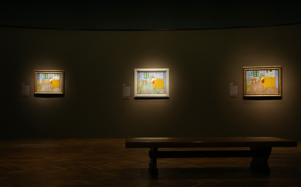 Van Gogh's Bedrooms marketing campaign || @Art Iinstitute Chicago