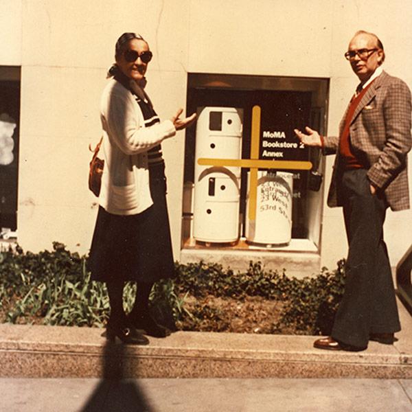 50 anni dei Componibili Kartell || Anna Castelli Ferrieri e Giulio Castelli al #MoMA