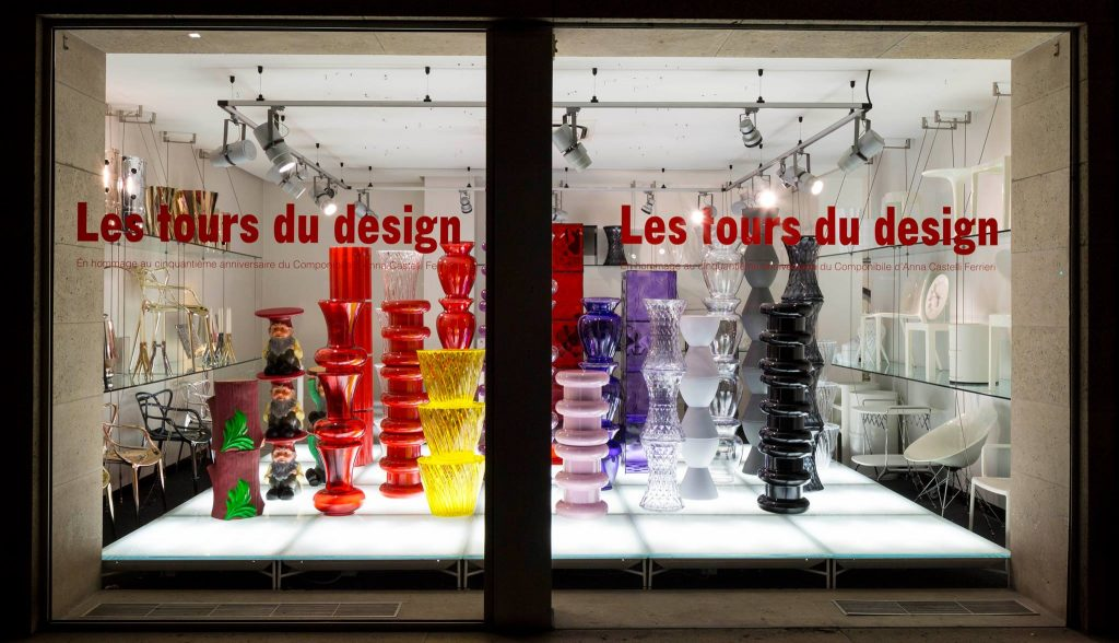 50 anni dei Componibili Kartell by Anna Castelli Ferrieri || Les tours du design