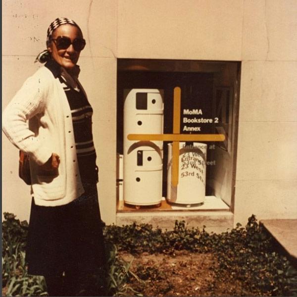 50 anni dei Componibili Kartell || Anna Castelli Ferrieri al #MoMA