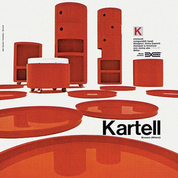 50 anni dei Componibili Kartell || 1967