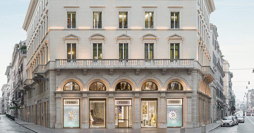 Palazzo Fendi Flagship Roma