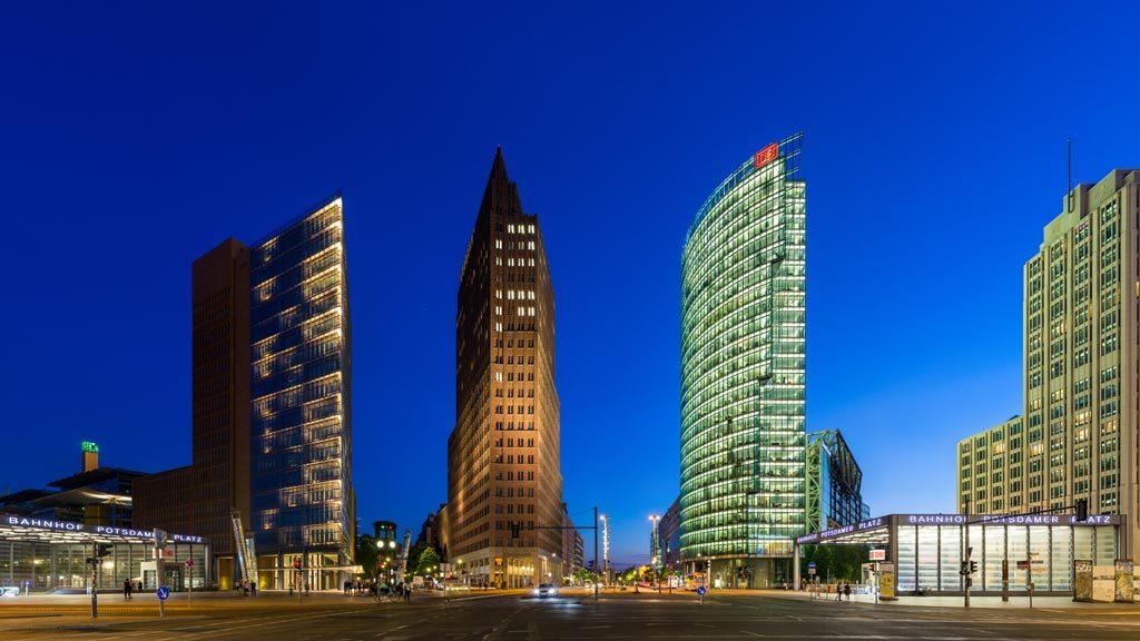 Berlin architettura || #PotsdamerPlatz