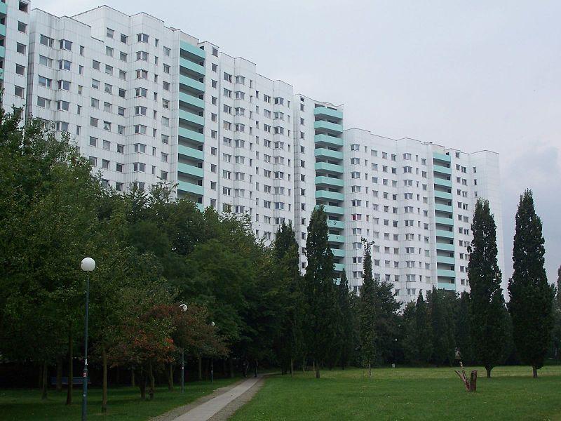 Berlin architettura || #Gropiusstadt houses