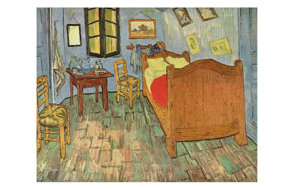 Camera da letto di arles di vincent willem van gogh a - Van gogh la camera da letto ...