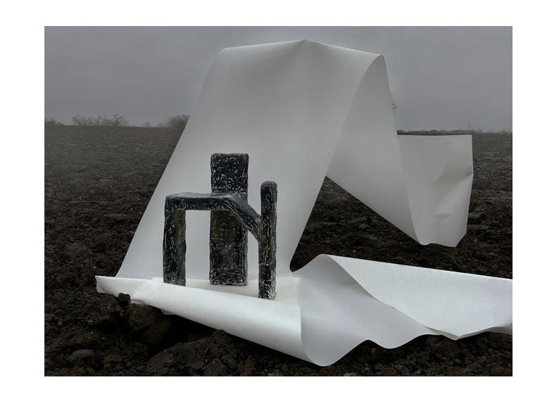 Milano Design Week 2017 || Studio Elkeland || 3 pillar seat