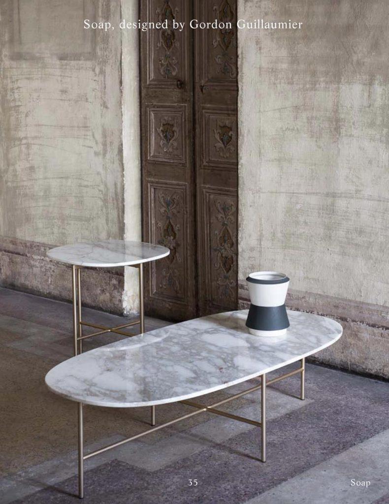 Tacchini #design || #Soap #table 2017
