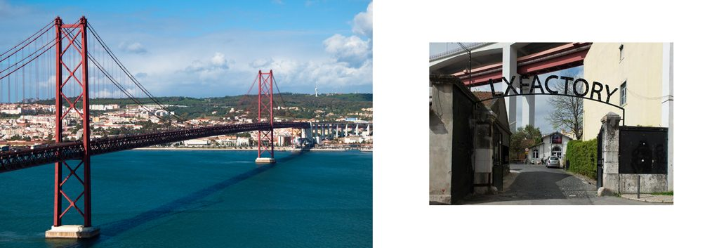 Lisbona - architettura sociale LX FACTORY
