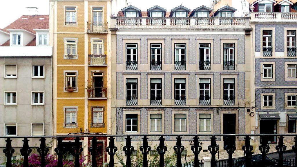 Lisbona città azulejos