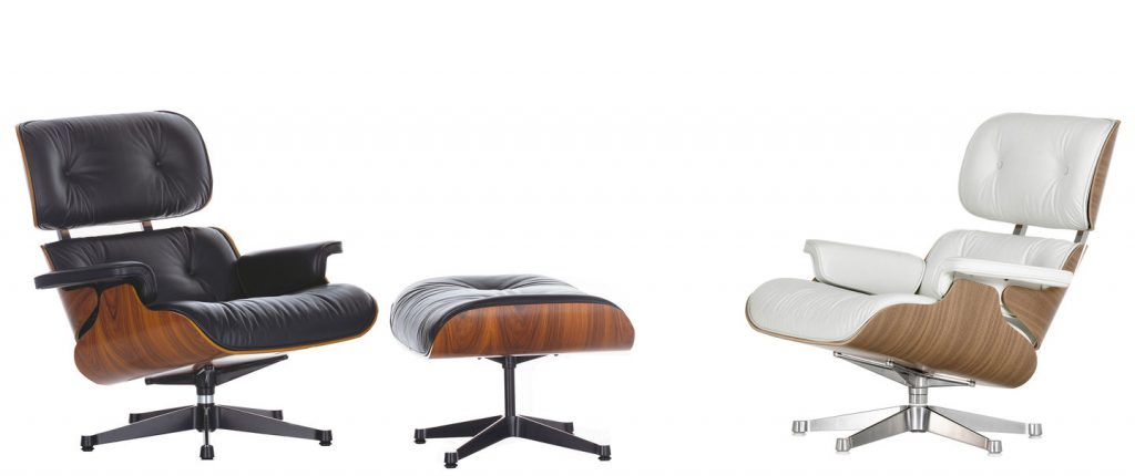 lounge cheir and ottoman eames