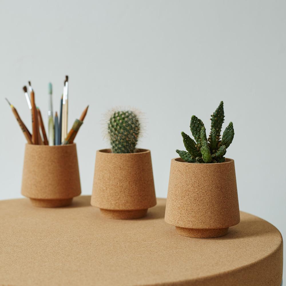 Sughero applicazioni nel design || Ewa cork pots