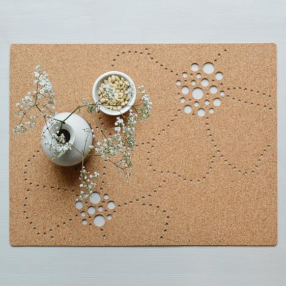 Sughero applicazioni nel design || Floreal Placemat