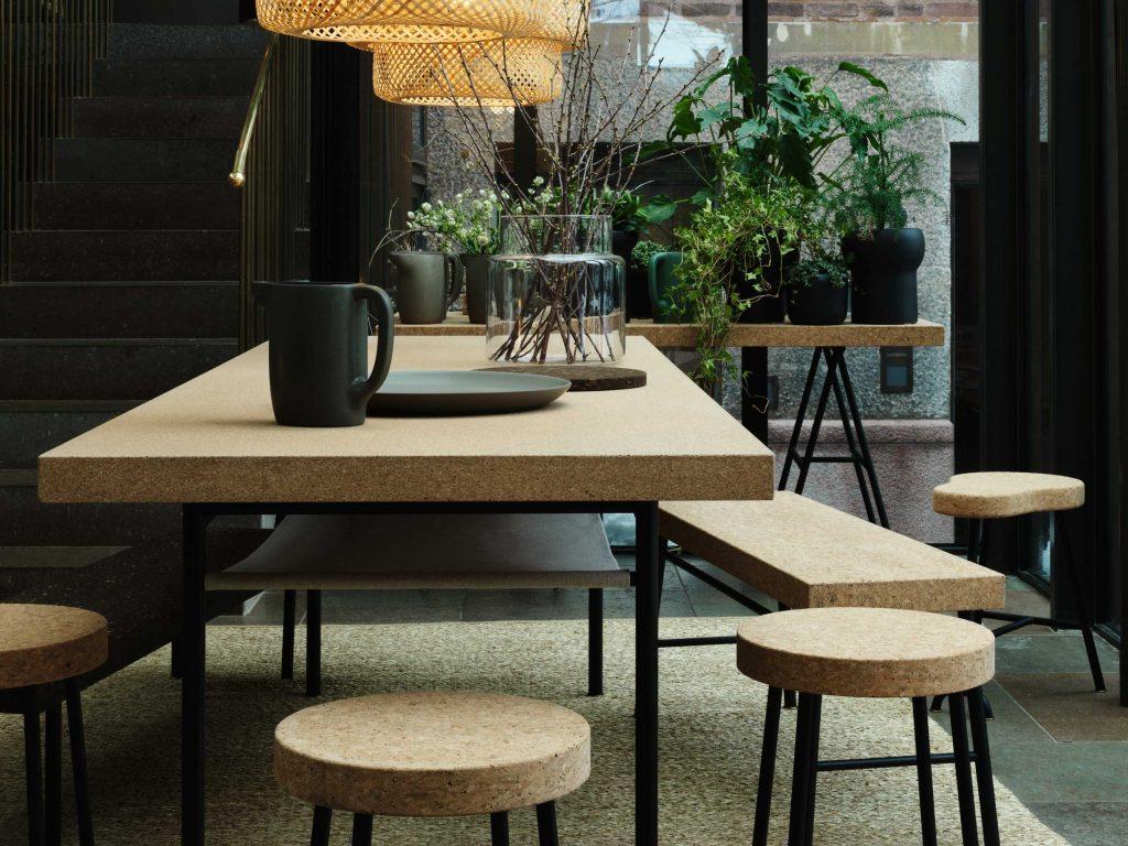 Sughero applicazioni nel design || Ilse Crawford IKEA