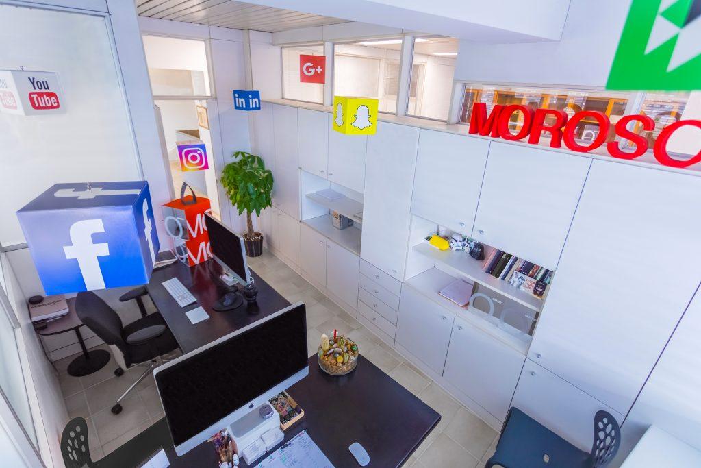 moroso intervista digital marketing ufficio web design brand social network