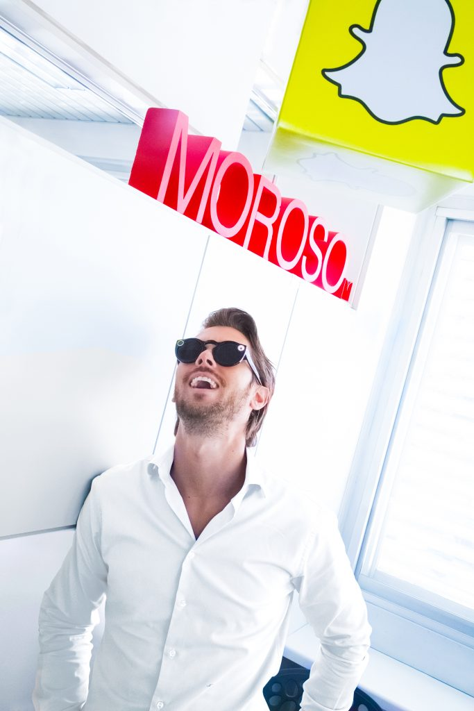 moroso intervista digital marketing ufficio web design brand social network