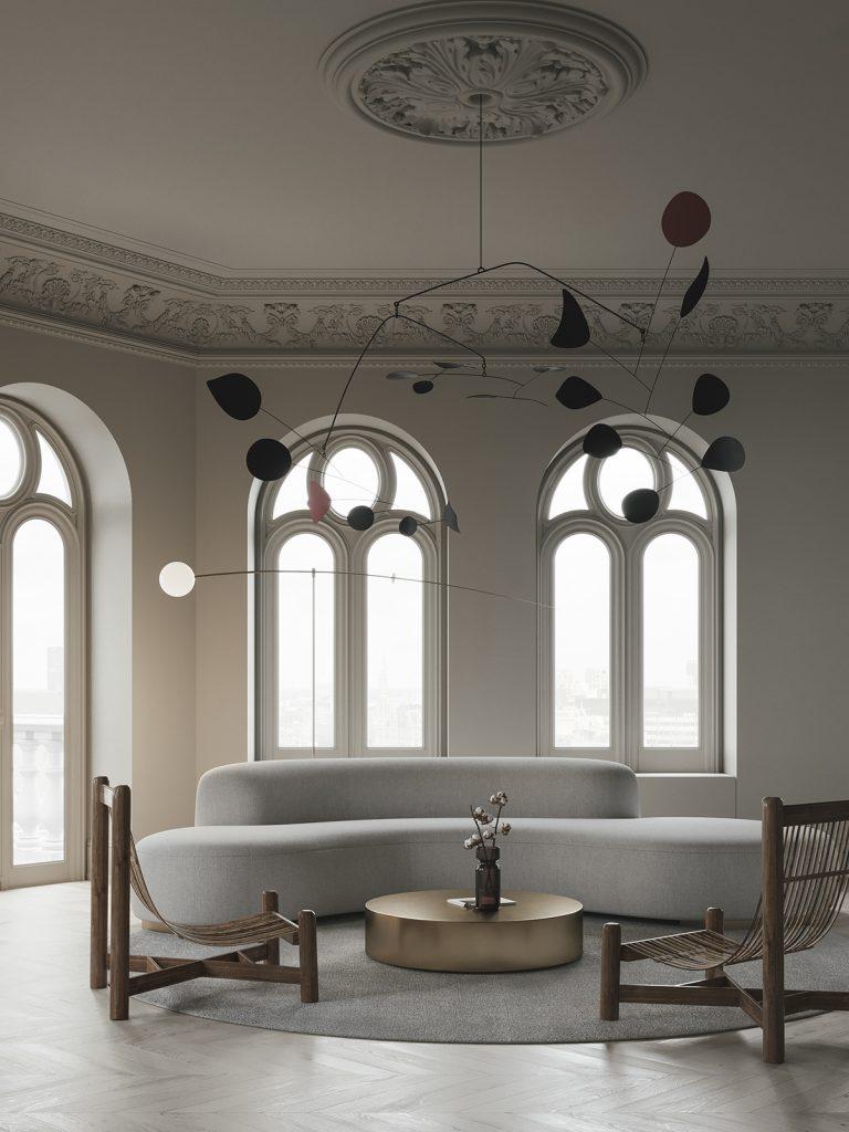 BEIGE by Evgeniy Bulatnikov & Emil Dervish || interior design project