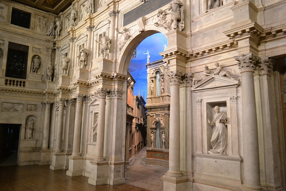 ARCHITETTURA E TEATRO VICENZA TEATRO OLIMPICO PALLADIO