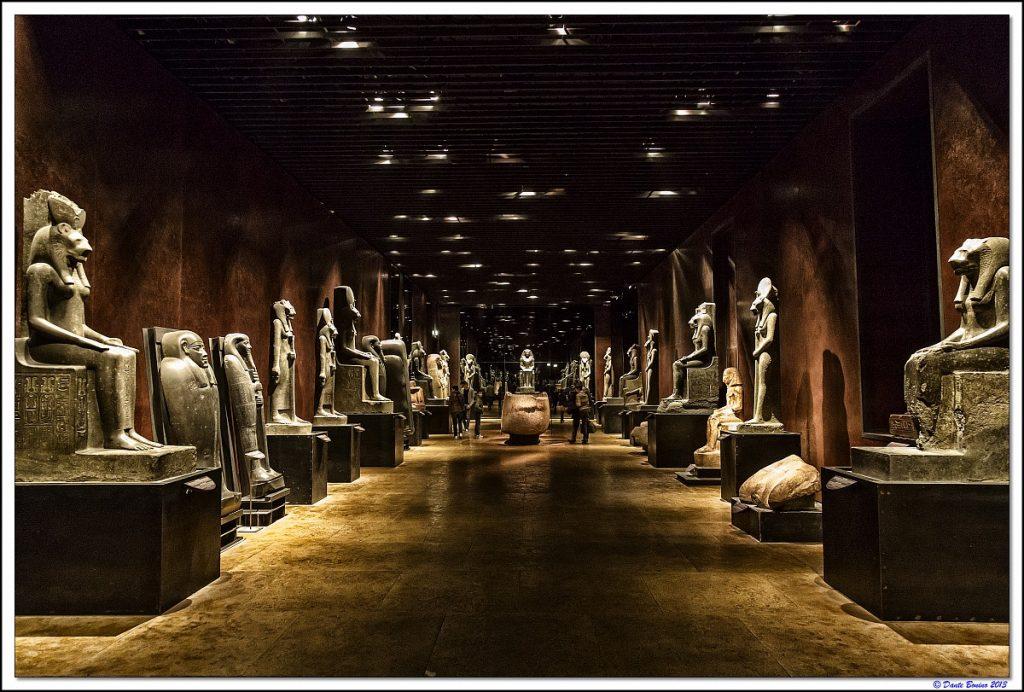 Torino città da scoprire tra architetture e design contemporaneo || Museo Egizio Statuario di Dante Ferretti