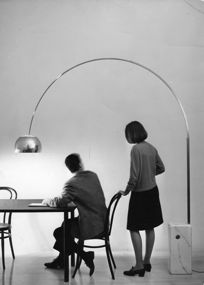 100 anni di Castiglioni - Arco (lampada da terra) - Achille Castiglioni - FLOS