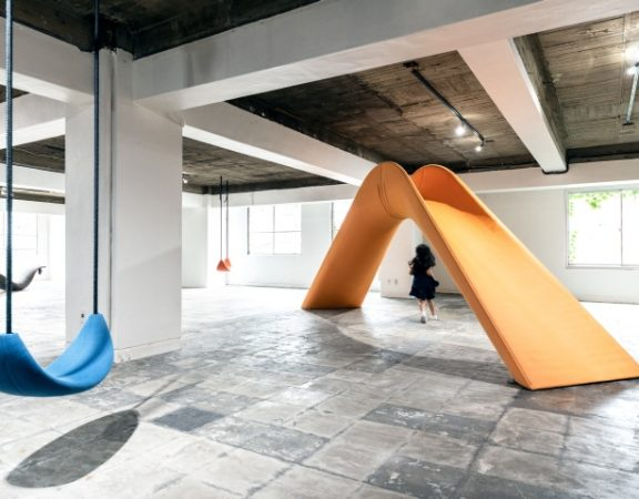 PLAYSCAPE exhibition by Mikiya Kobayashi