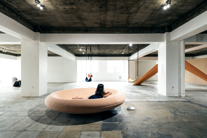 PLAYSCAPE exhibition by Mikiya Kobayashi