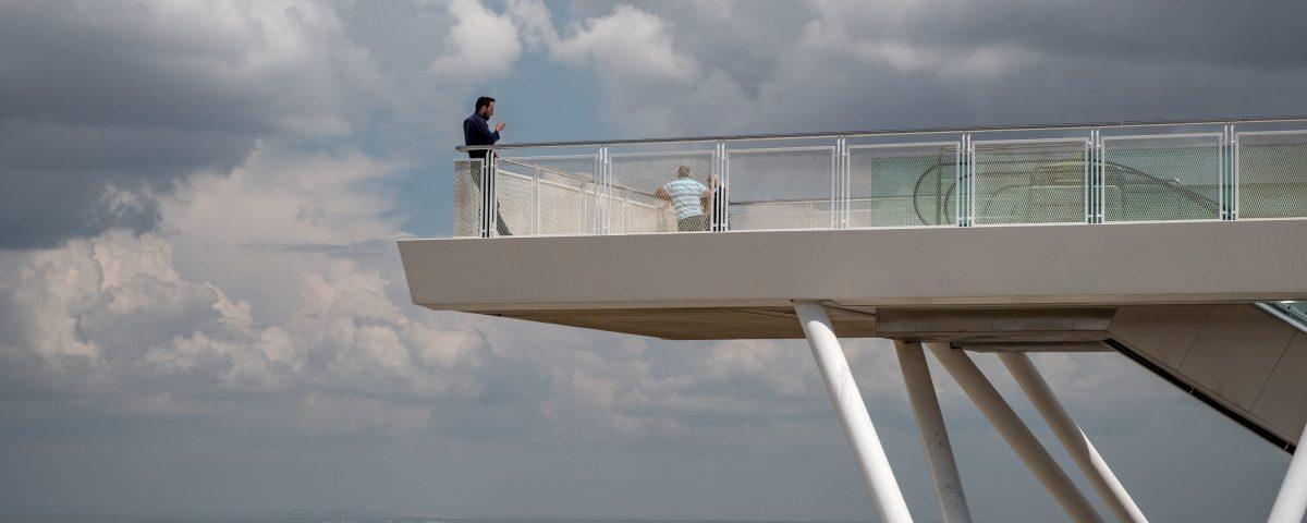 Ozer/Urger architects Architectural footbridge in Turkey