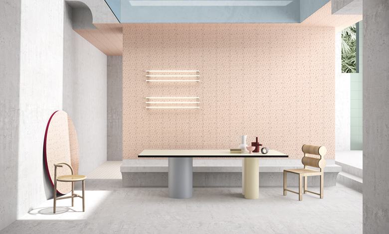 Grafismi d'autore - Marcante Testa firmano House of Tiles per Ceramica Vogue