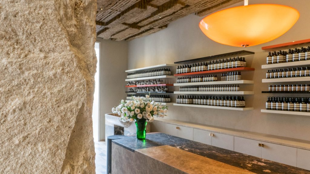 Aesop Store #Roma | project by Luca Guadagnino