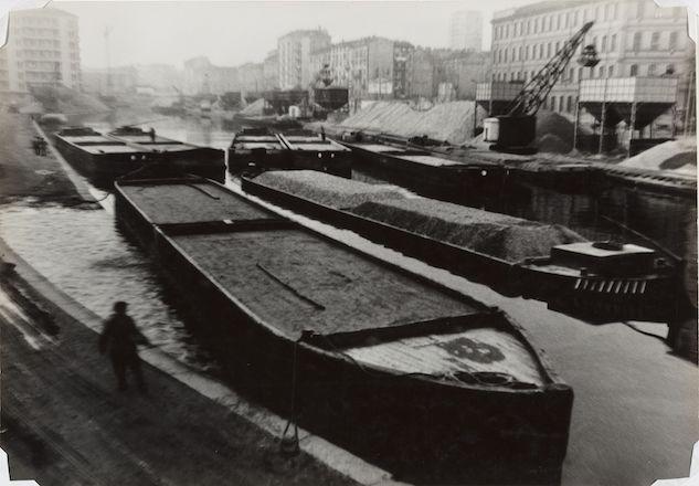 Mario Finocchiaro, Milano, Darsena, 1958 © Mario Finocchiaro